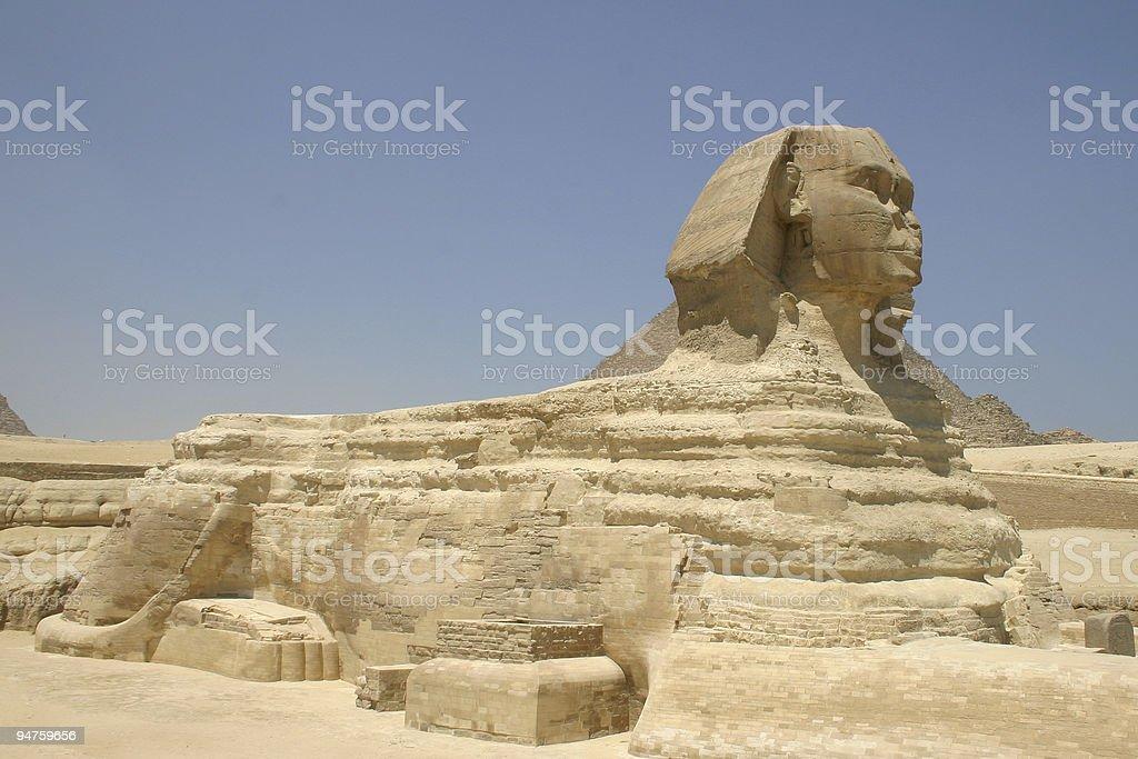 The Sphinx 2 stock photo