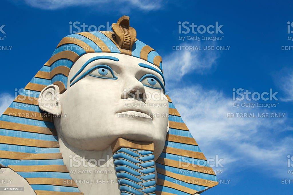 The sphinx at Luxor Las Vegas stock photo