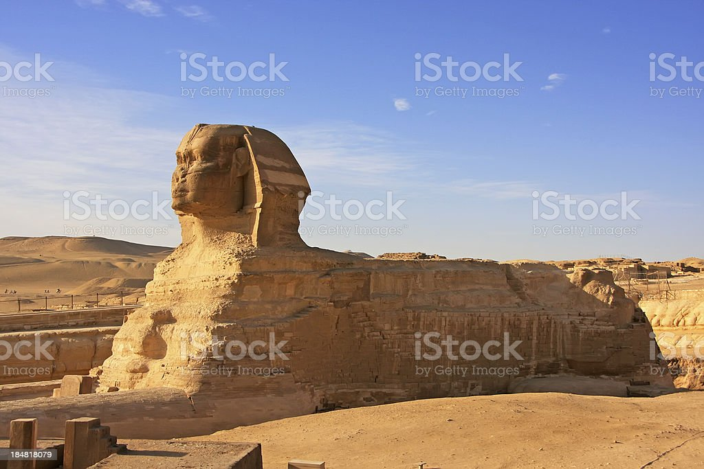 The Sphinx, Cairo royalty-free stock photo