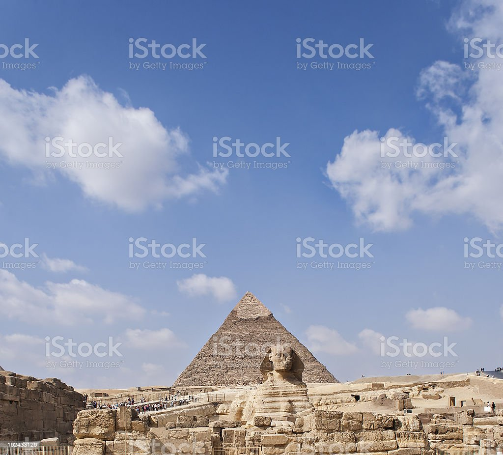 The Sphinx Egypt royalty-free stock photo