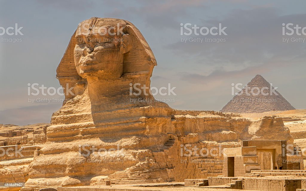 The Sphinx, Egypt stock photo