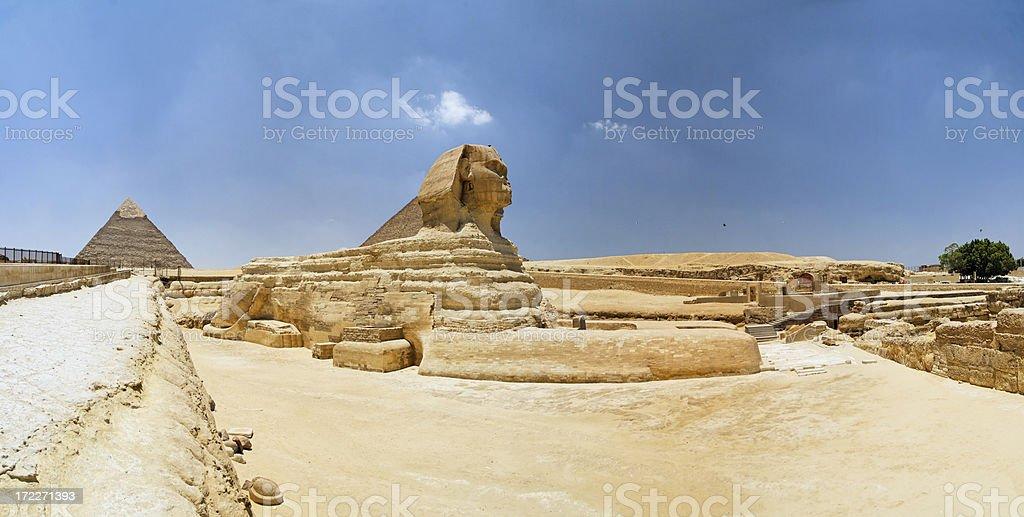 The Sphinx in Giza stock photo