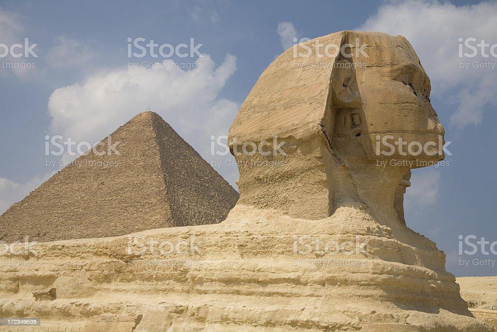 The Sphinx stock photo