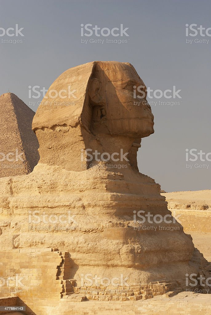 The Sphinx royalty-free stock photo