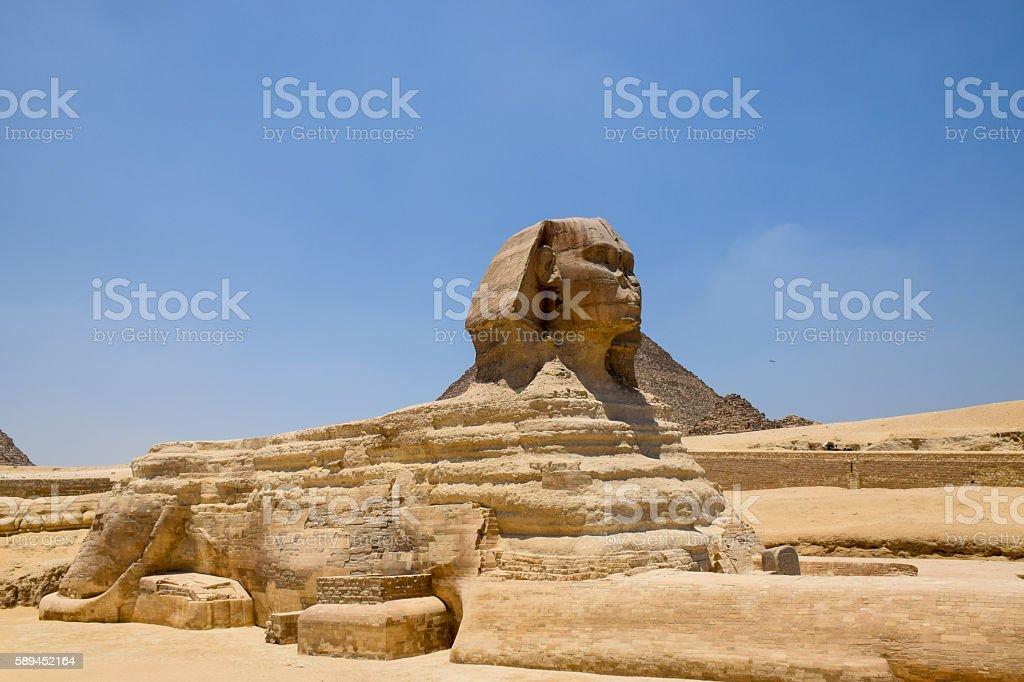 The Sphinx, Sphinx, Giza, Egypt stock photo