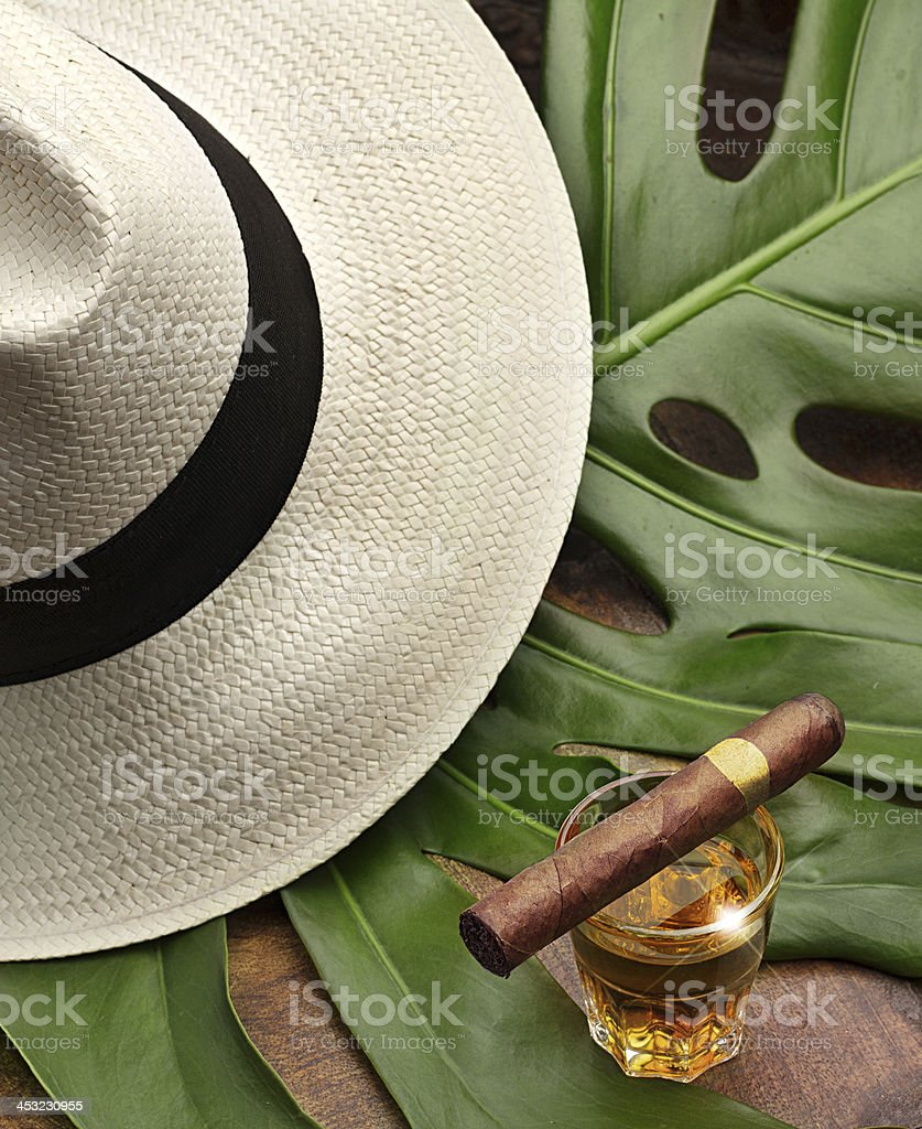 the spirit of Cuba stock photo