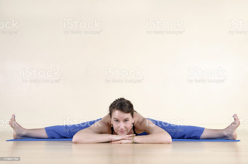 The Splits royalty-free stock photo