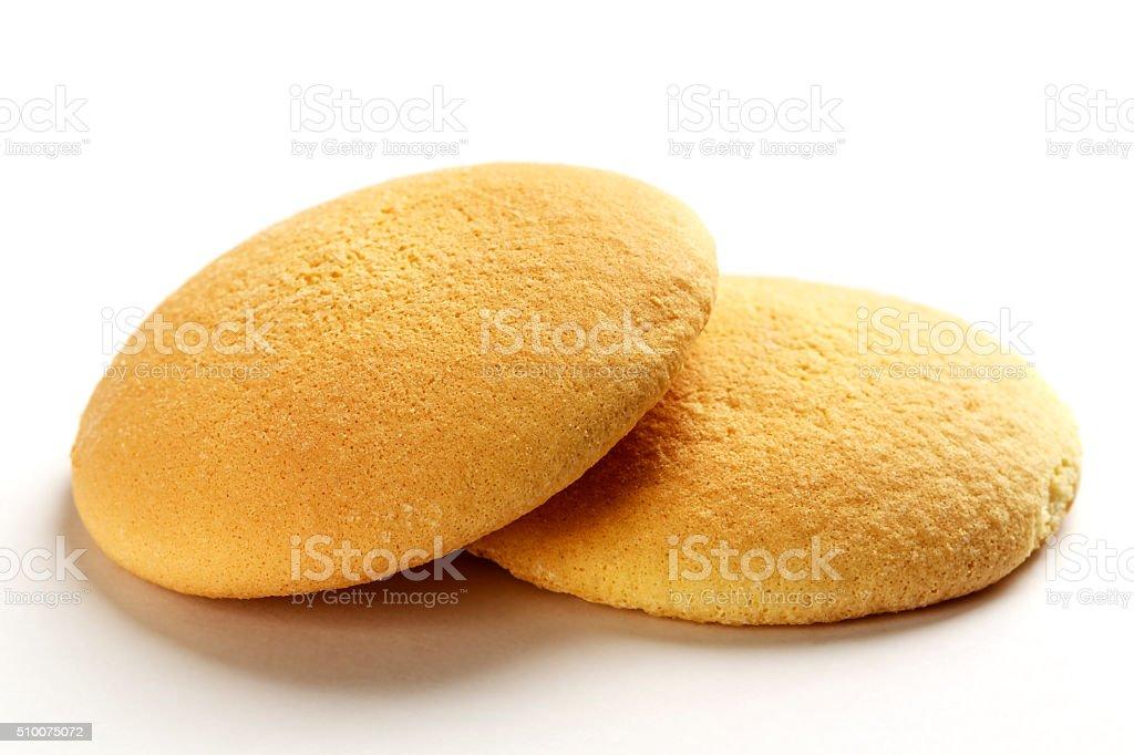 The Sponge biscuits stock photo