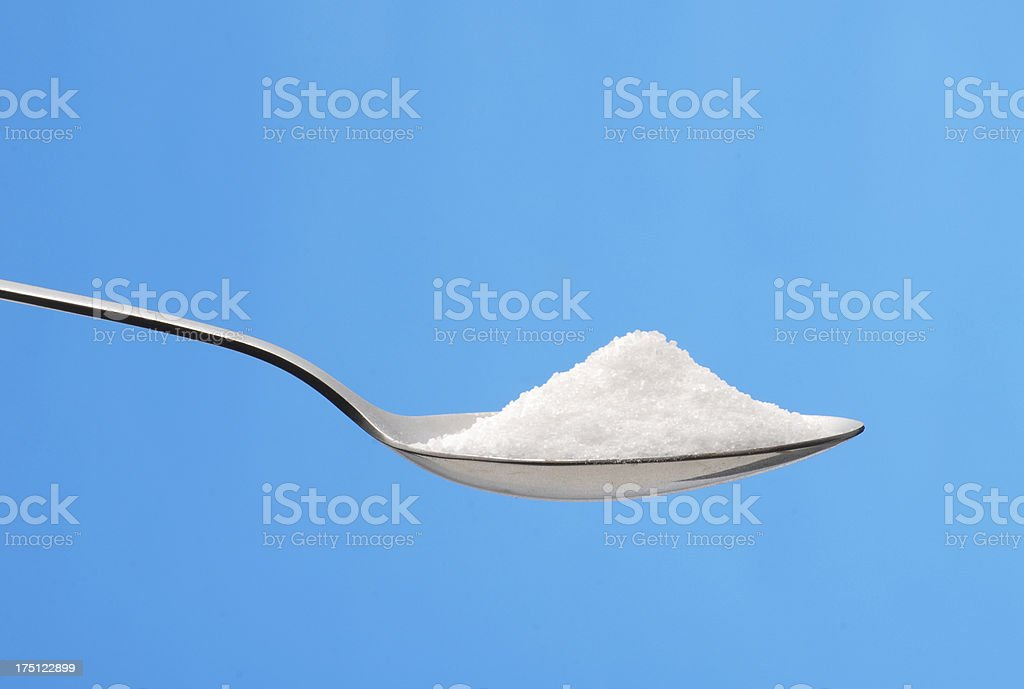 The spoon. stock photo