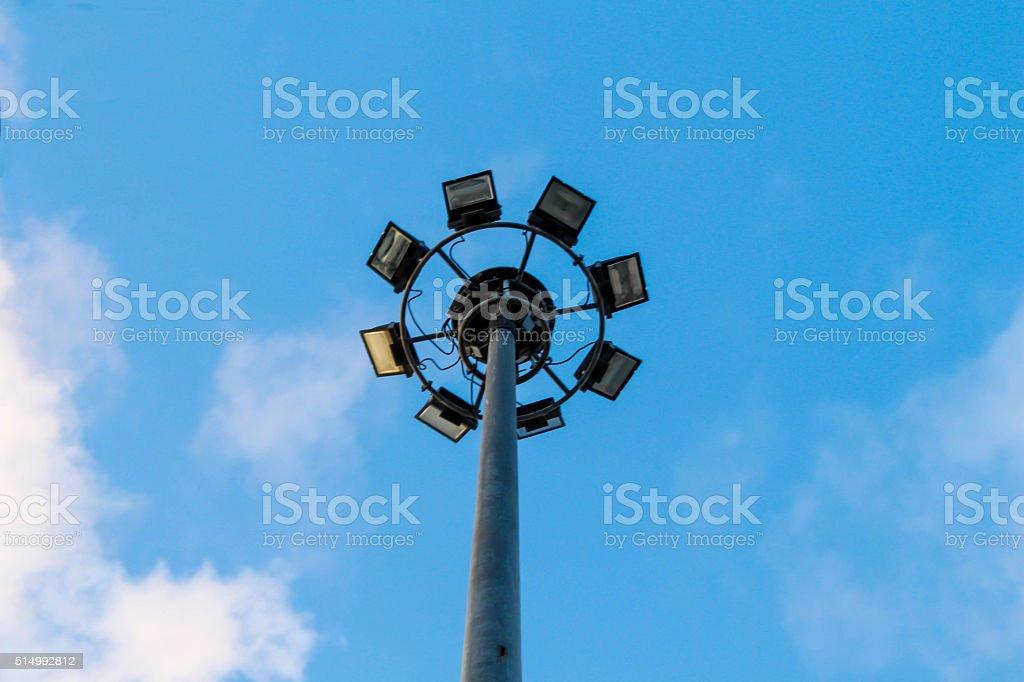 The spotlight stock photo