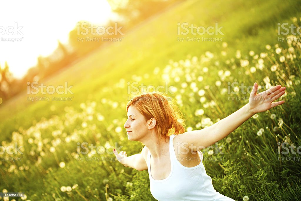 The Spring is here! royalty-free stock photo
