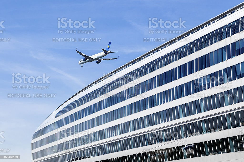 The Squaire, Frankfurt royalty-free stock photo