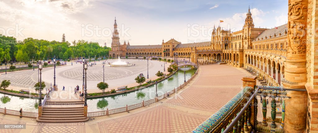 The Square of Spain stock photo