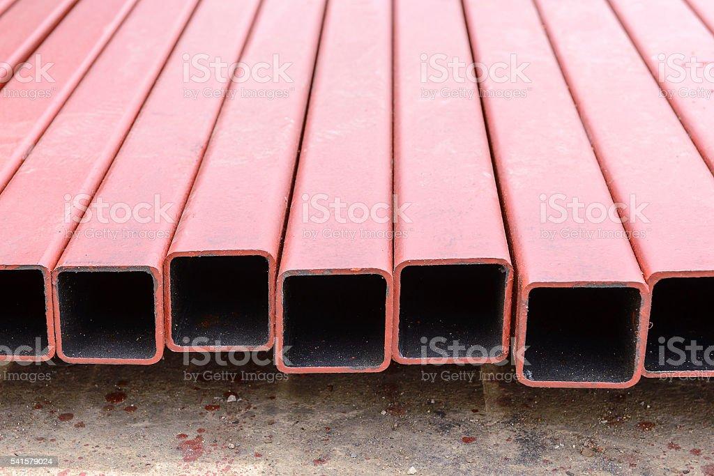 The square tube,the square tube stock photo
