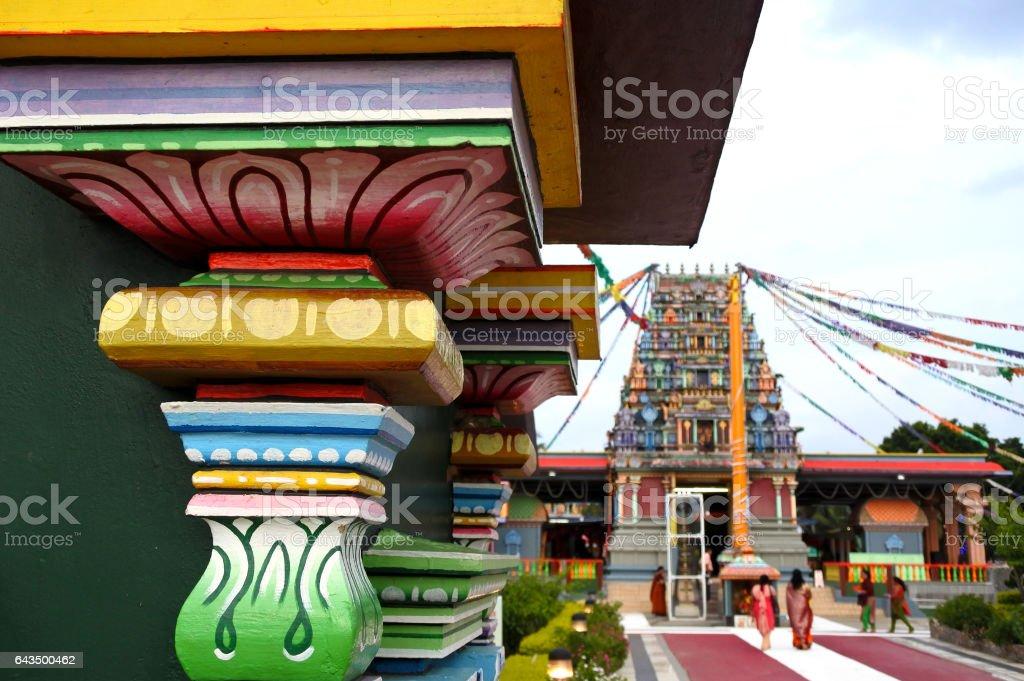 The Sri Siva Subramaniya Hindu temple in Nadi, Fiji stock photo