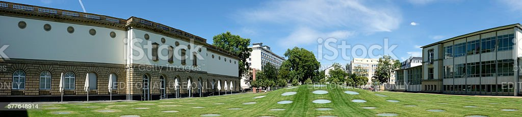 The Staedel, officially the Staedelsches Kunstinstitut und Staed stock photo