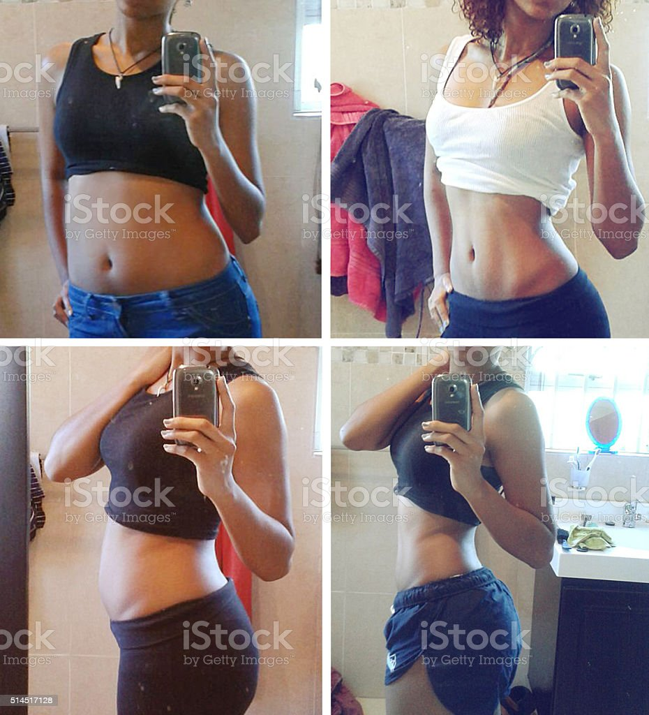 The stages of progress stock photo