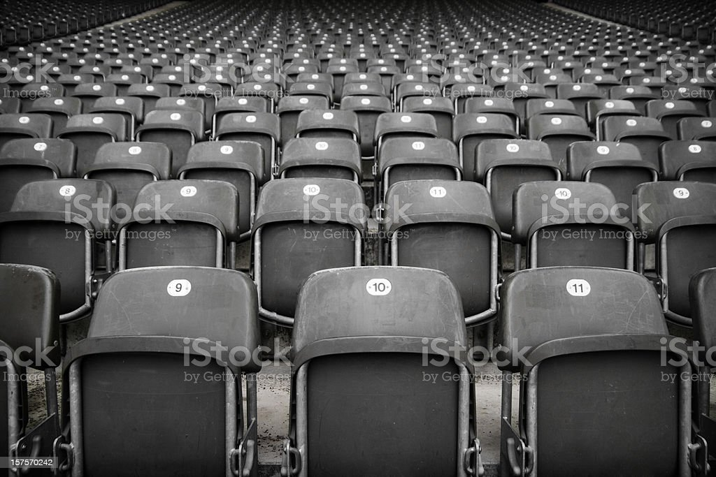 The Stands royalty-free stock photo