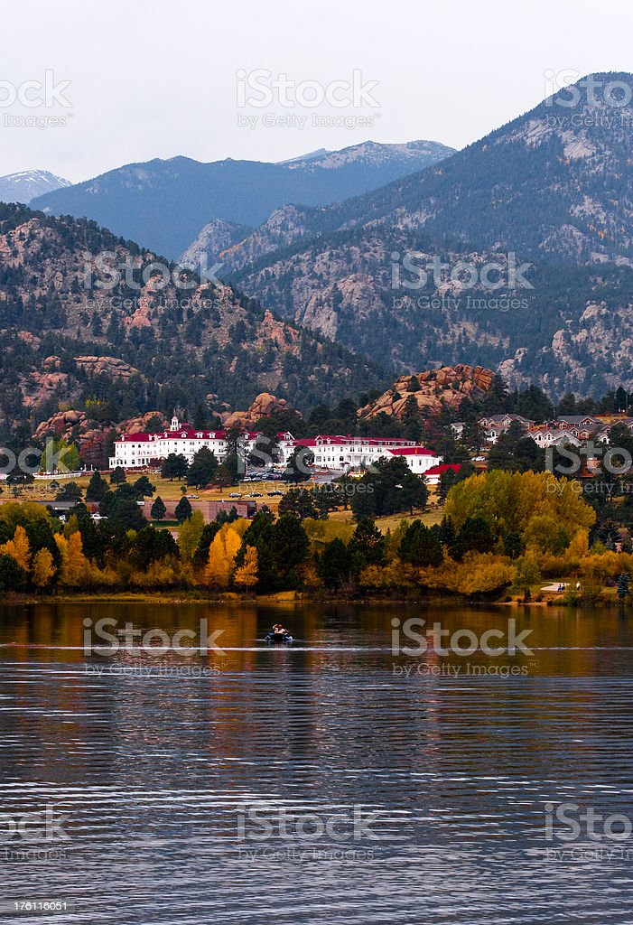 The Stanley in Fall royalty-free stock photo