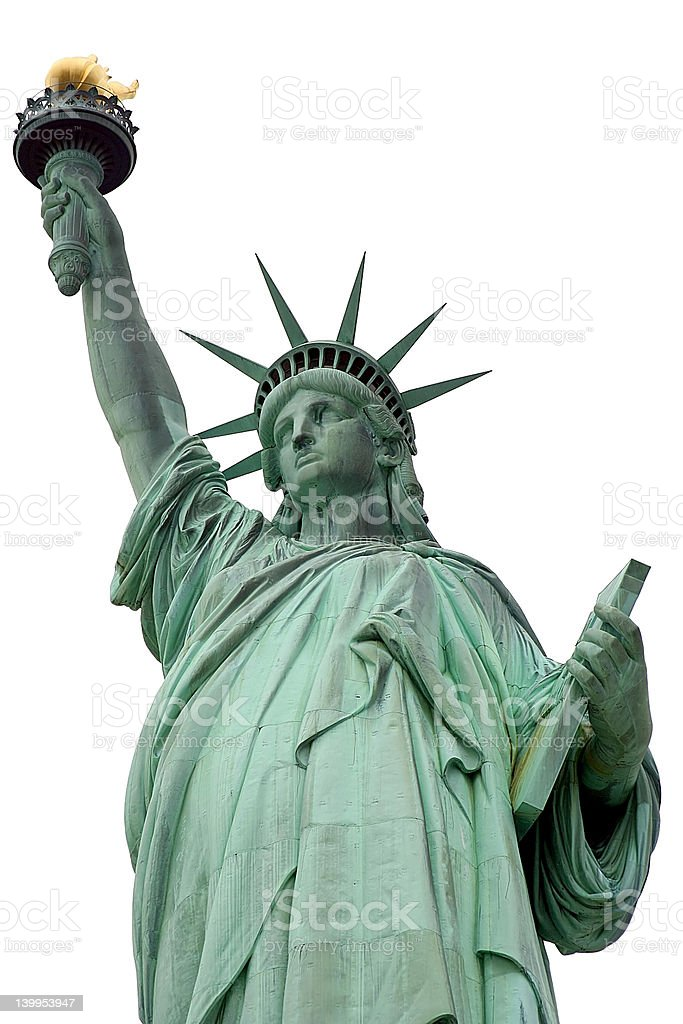 The Statue of Liberty stock photo
