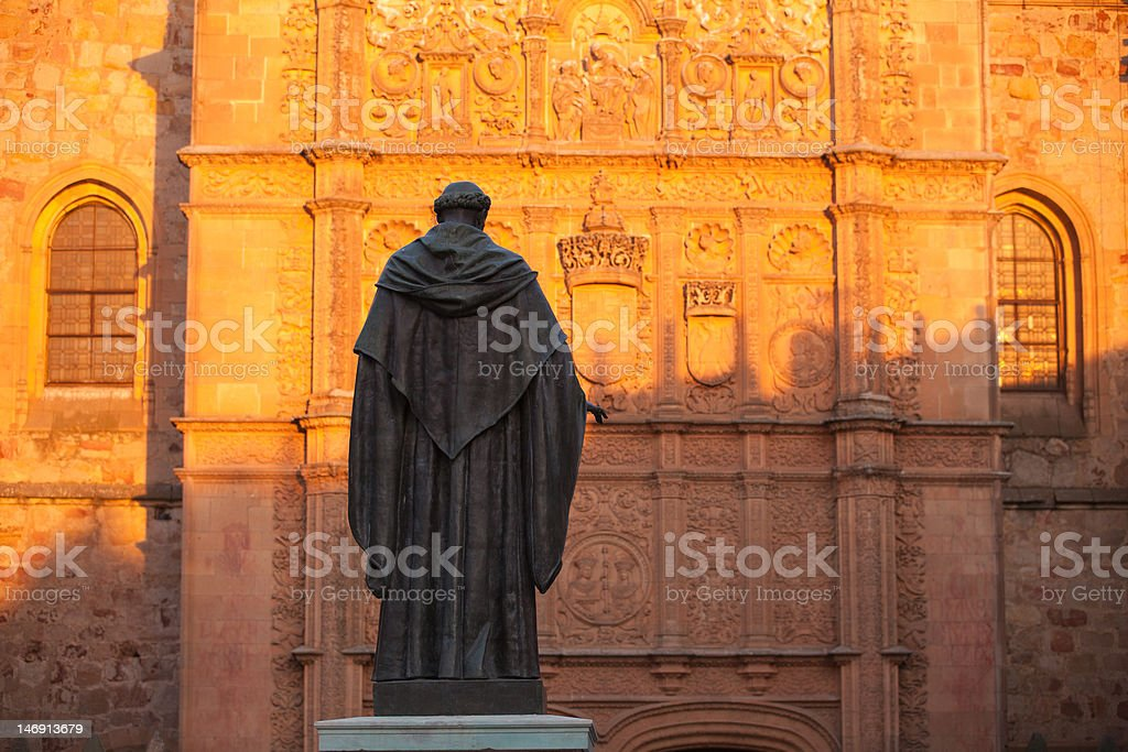 The statue royalty-free stock photo