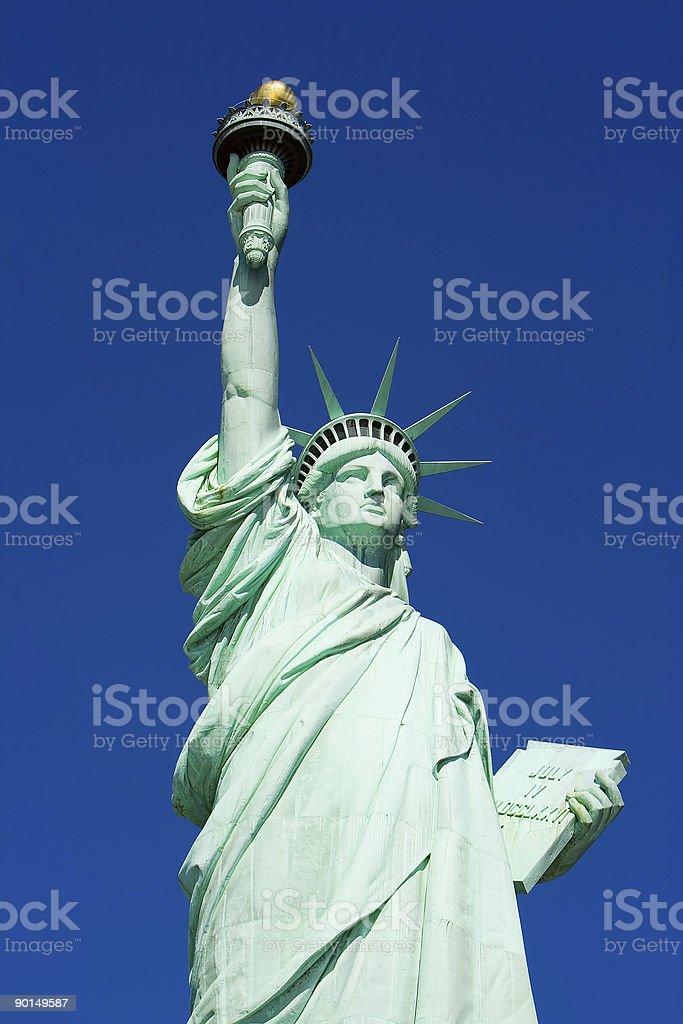 The Staue of Liberty royalty-free stock photo