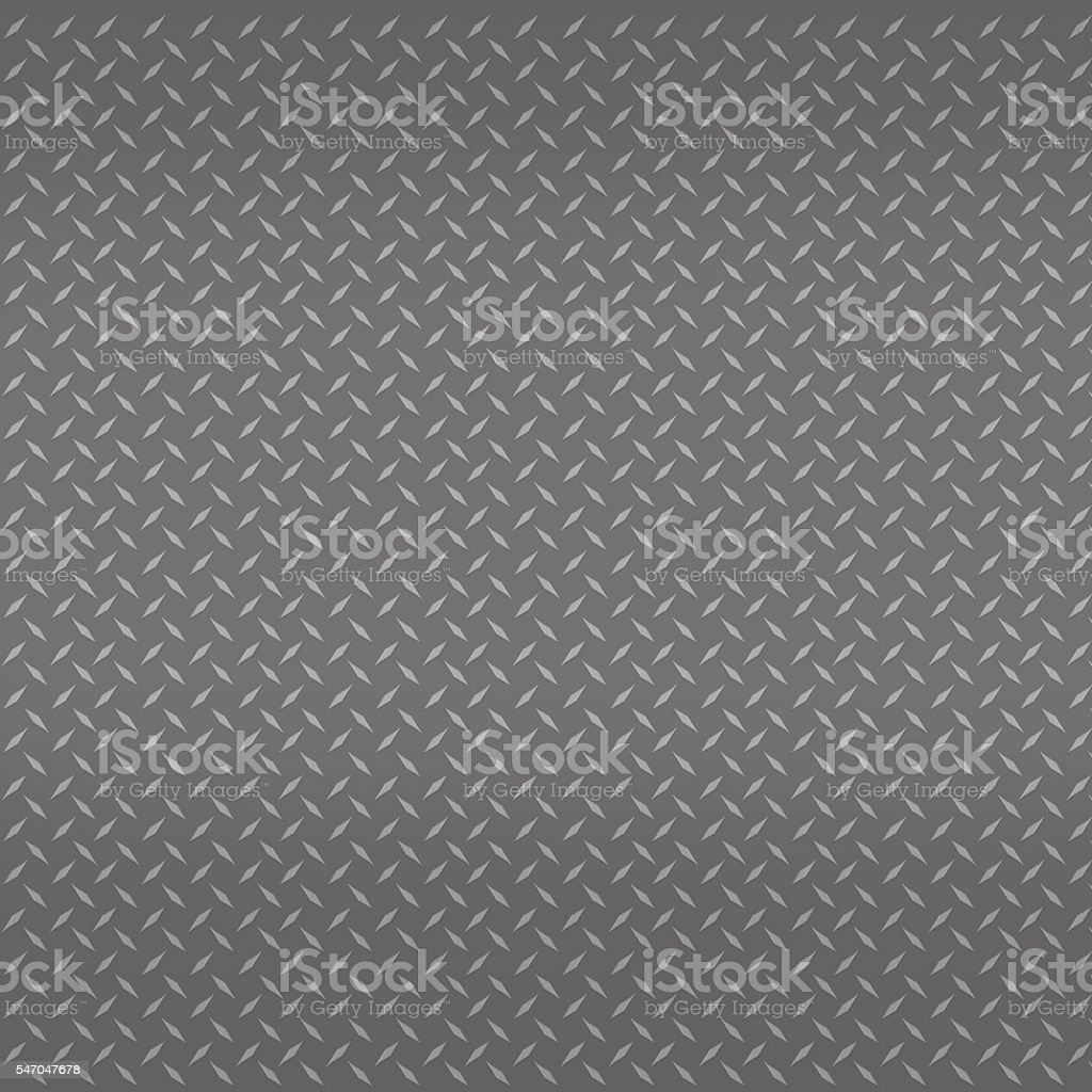 The steel checker plate for texture or background. stock photo