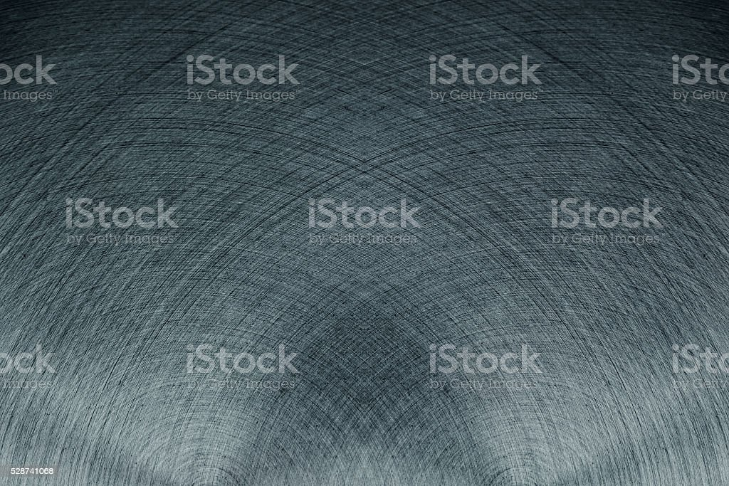The steel surface. The intersecting lines. stock photo