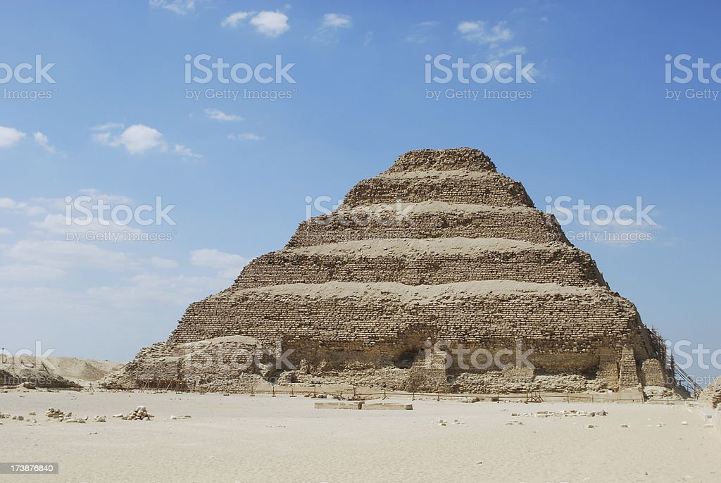 The Step Pyramid Of Zoser stock photo