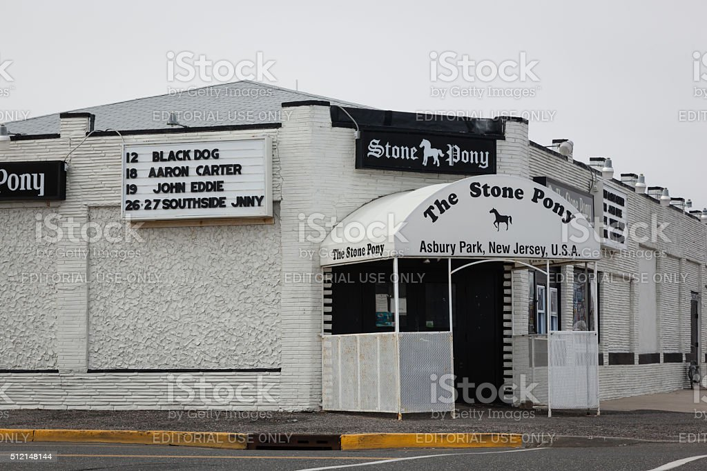 The Stone Pony stock photo