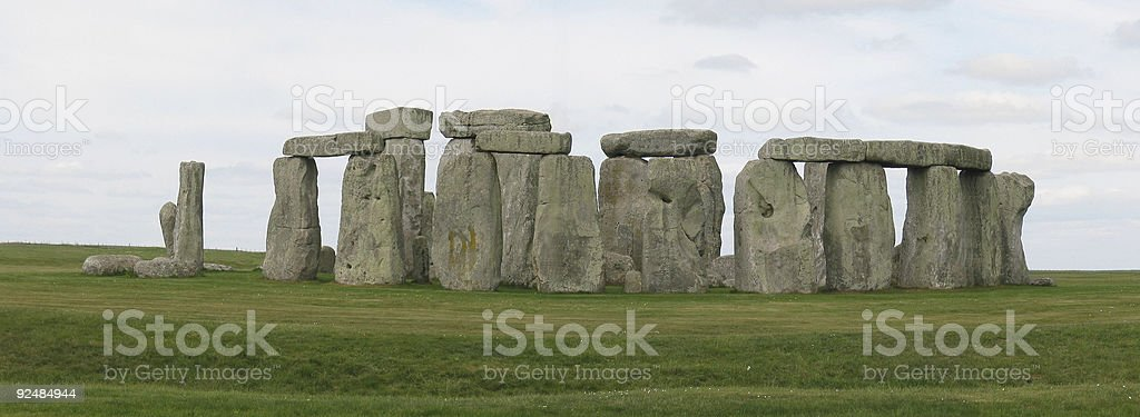 The Stonehenge in England royalty-free stock photo