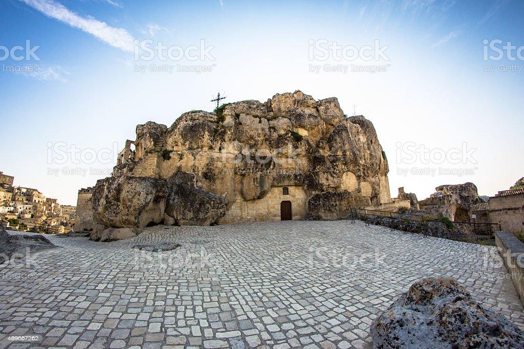 the stones of Matera stock photo