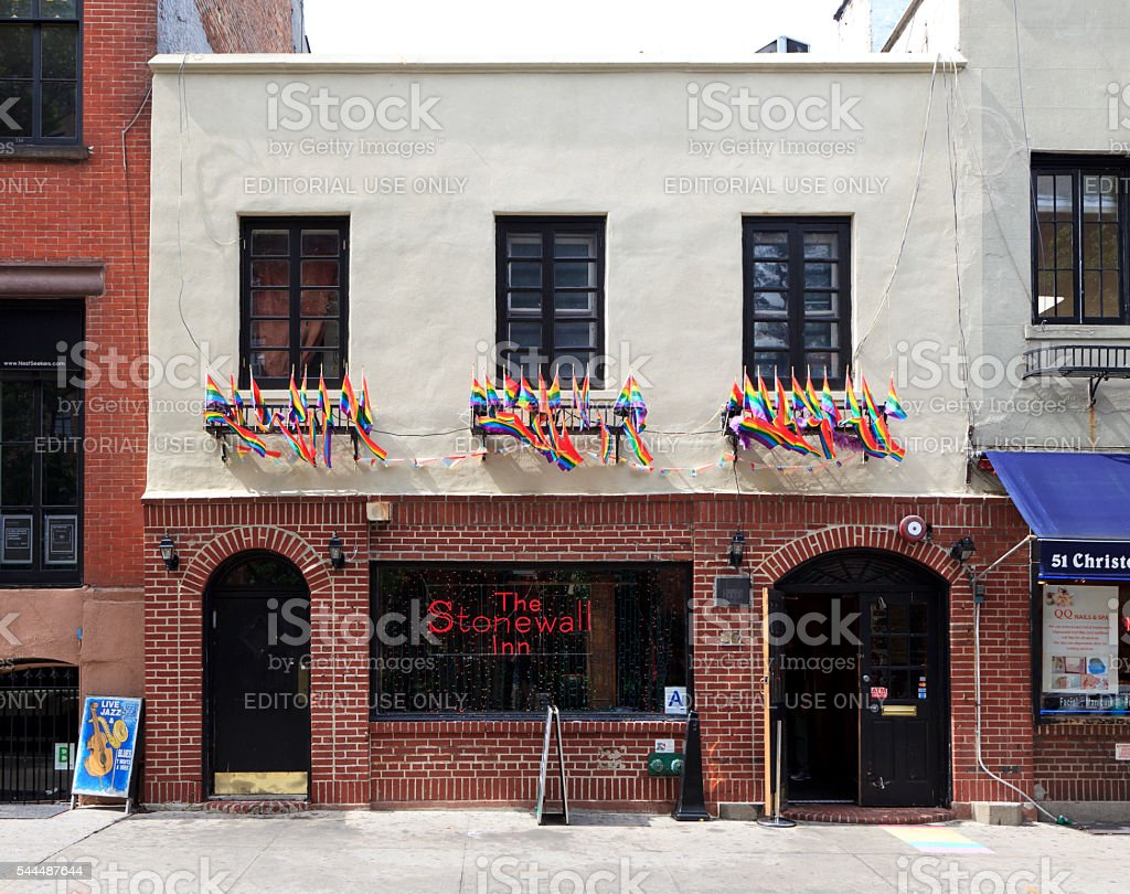 The Stonewall Inn stock photo