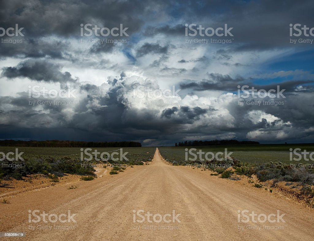 The Storm Ahead stock photo