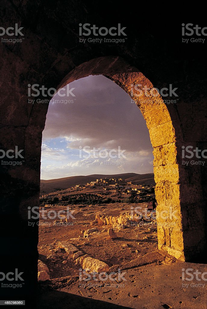 The Storm Gate stock photo