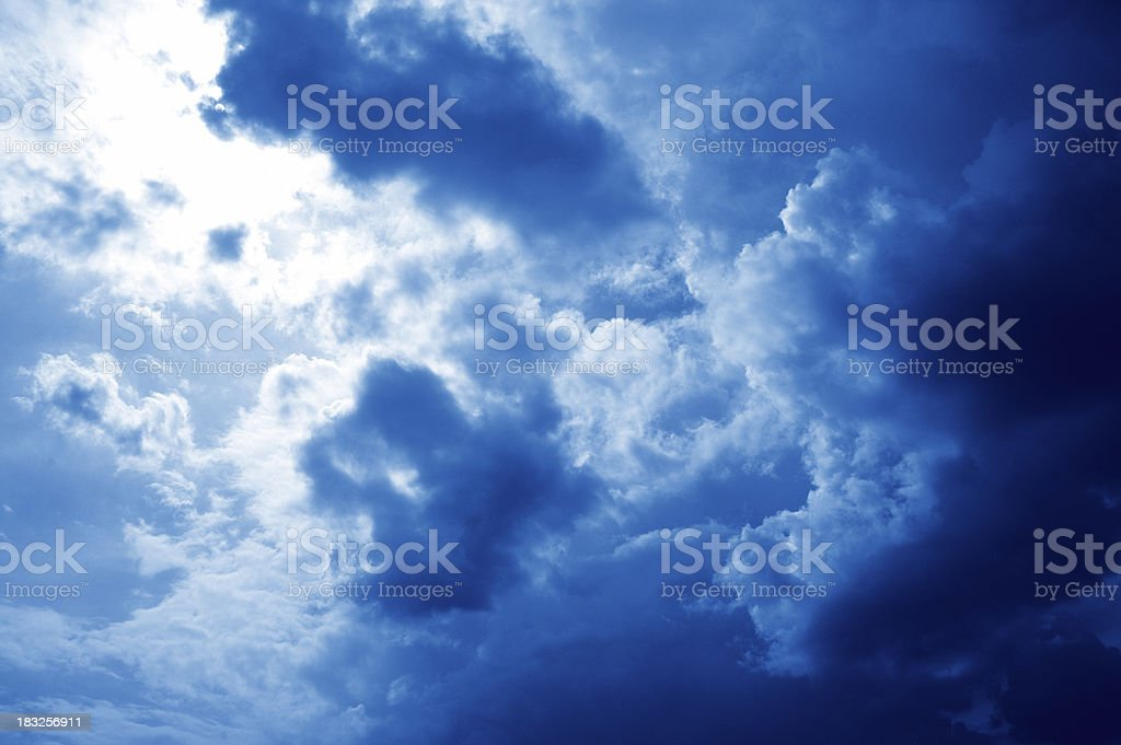 the storm is coming royalty-free stock photo