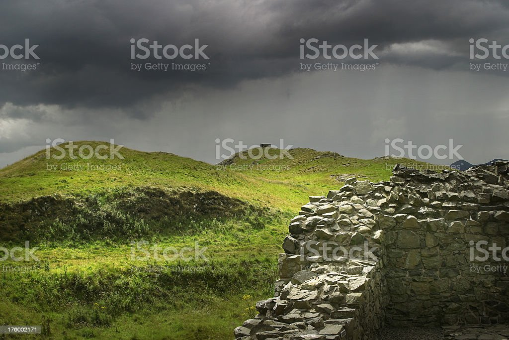 The Storm royalty-free stock photo