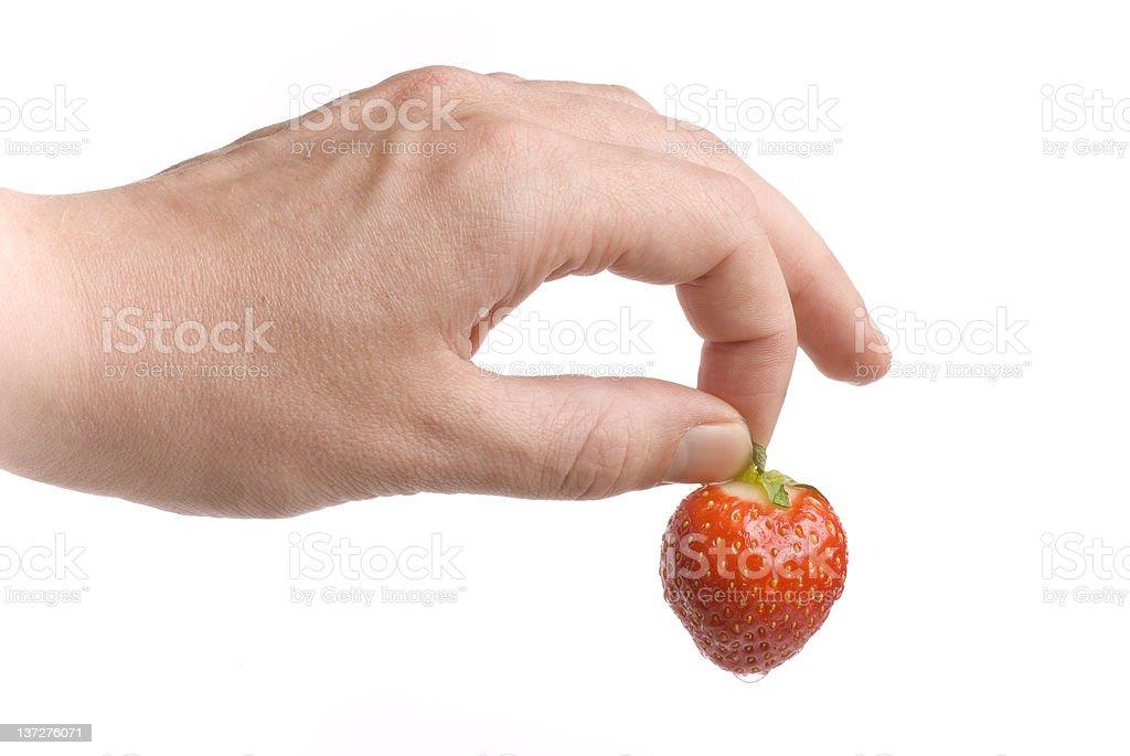 The Strawberry stock photo