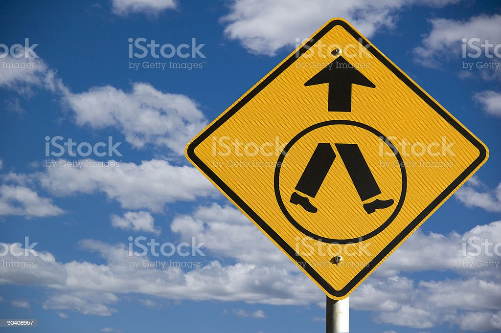 The Street Sign Series royalty-free stock photo