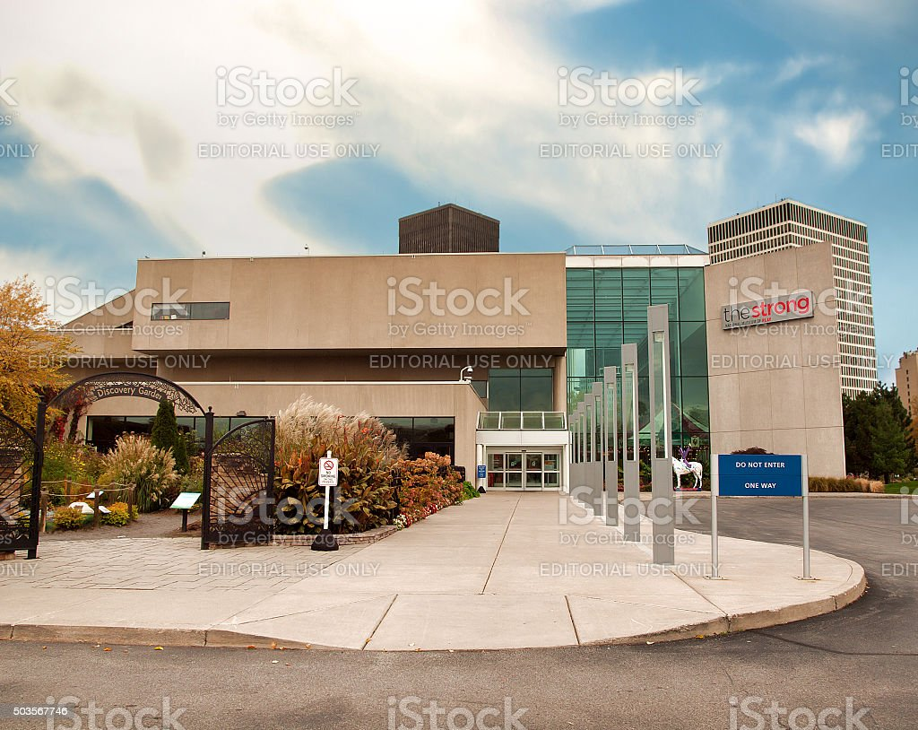 The  Strong National Museum of Play. stock photo