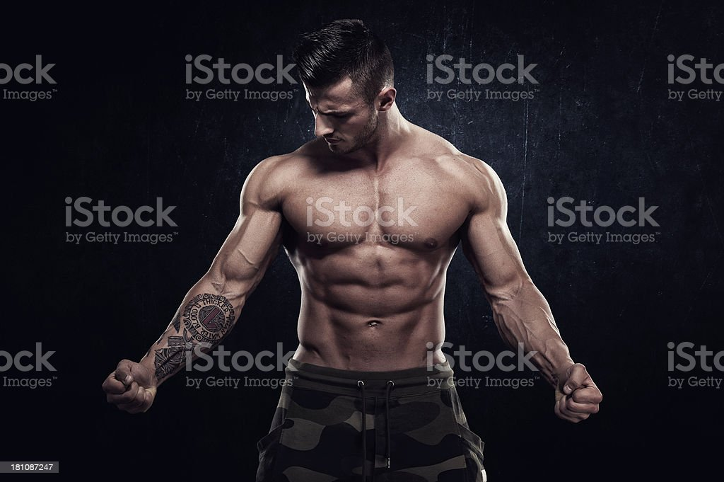 The Strong Shall Survive stock photo