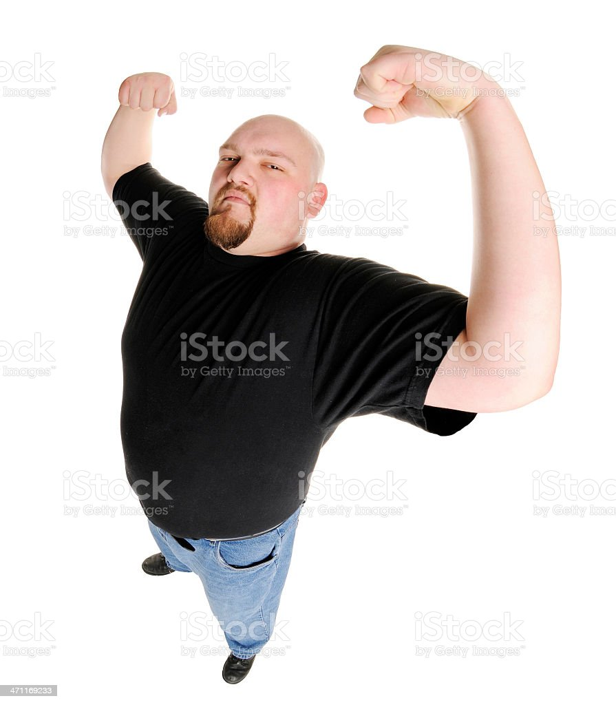 The Strongman royalty-free stock photo