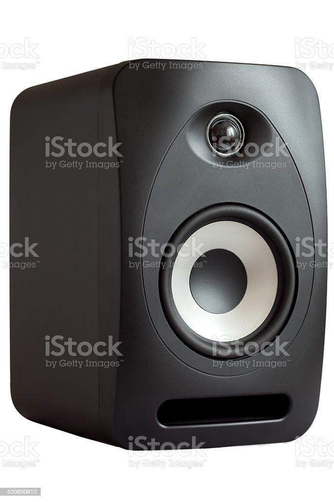 The studio monitor. stock photo