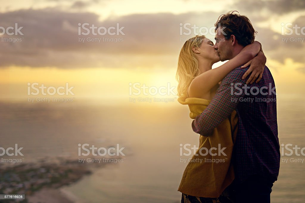 The stuff romance novels are made of stock photo