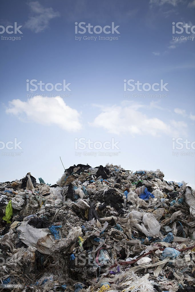 the stuff that you buy today, make trash tomorrow stock photo