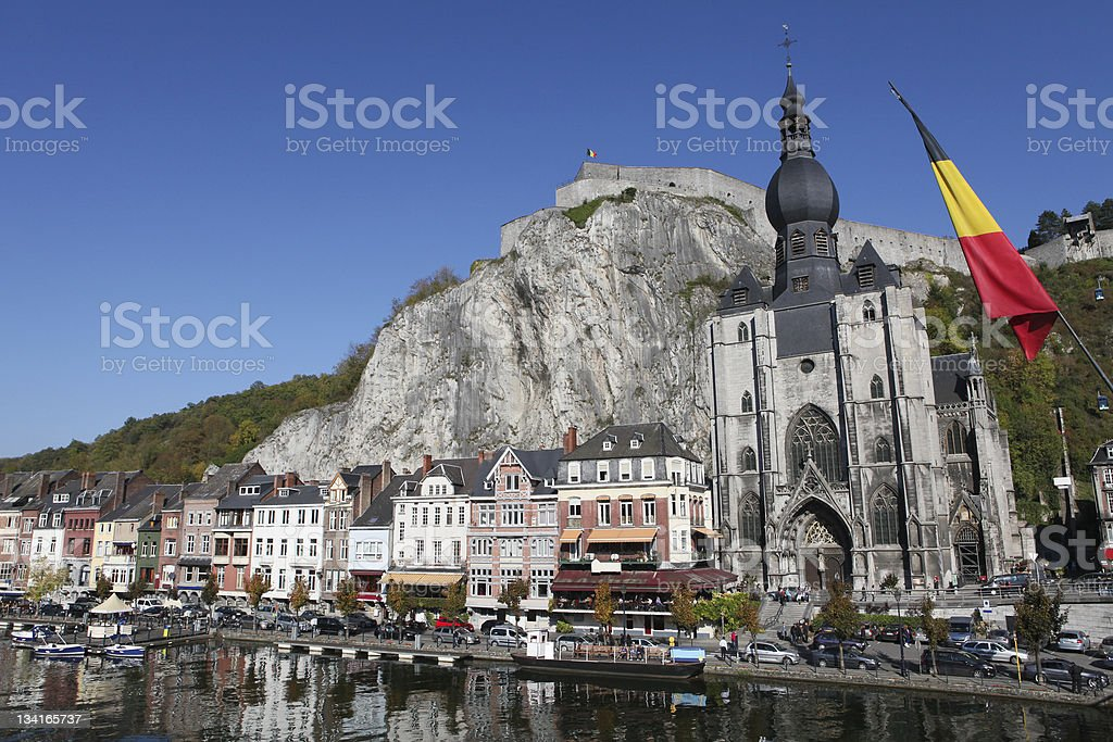 The stunning Digant in Belgium stock photo