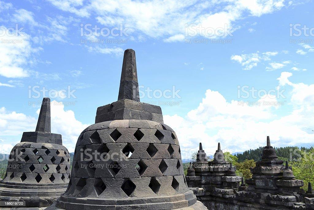 The Stupa Of Borobudur royalty-free stock photo