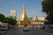 The Sule Paya, Yangon, Myanmar