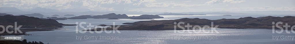 The Summer Isles, Scottish Highlands stock photo