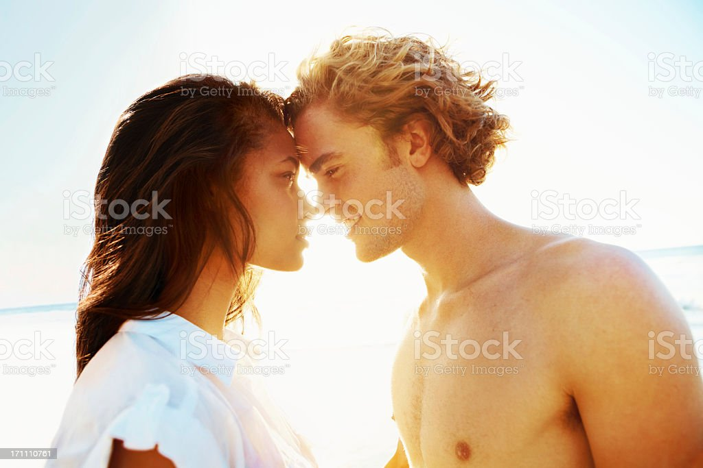 The summer of love stock photo